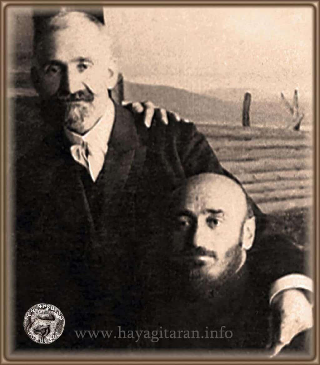 Հովհաննես Թումանյան և Կոմիտաս Hovhannes Tumanyan and Komitas