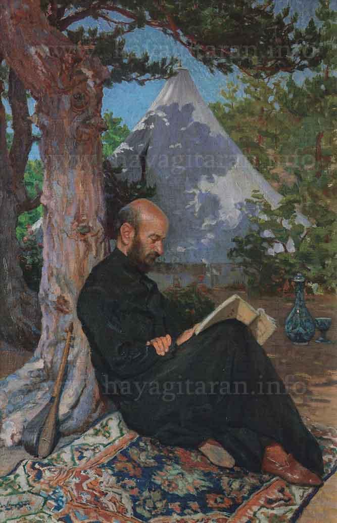 Թերլեմեզյան Փանոս Պողոսի (1865 - 1941) Երաժշտագետ Կոմիտասը (1913)