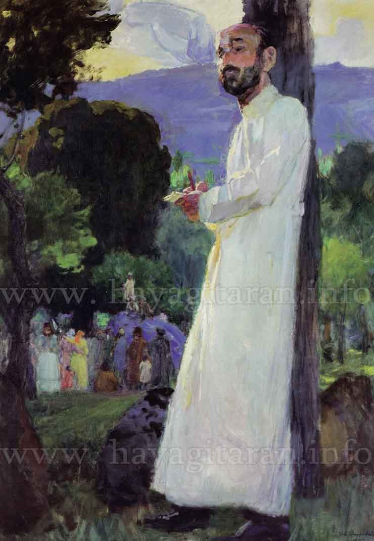Թադևոսյան Եղիշե Մարտիրոսի (1870 - 1936) Երաժշտագետ Կոմիտասը (էտյուդ) (1903)
