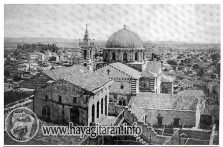 Այնթապի Սուրբ Աստվածածին հայկական տաճար Ayntapi Surb Astvatsatsin ekegheci