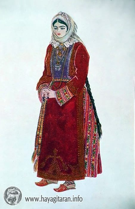 ՀԱՅԿԱԿԱՆ ՏԱՐԱԶՆԵՐ - Armenian Traditional Costume (Taraz)