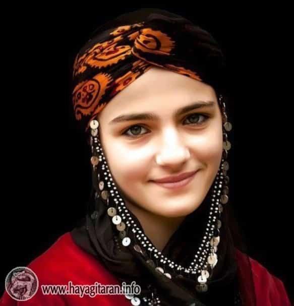 Համշենահայուհի Armenian girl from Hamshen Համշենցի աղջիկ Hamshen girl Hemşinli kız Амшенская девушка