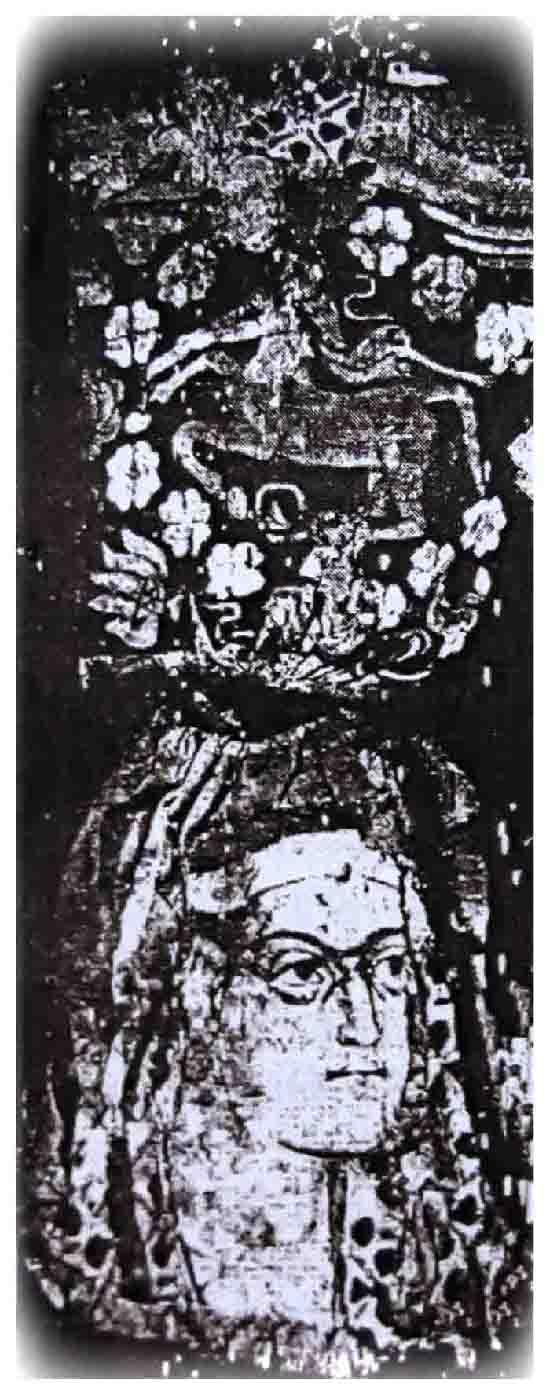 Հայ գաղթօջախները և հայ զինվորականությունը Հեռավոր Արևելքում, Հնդկաստանում և Հյուսիսային Աֆրիկայում / Չինաստանի հյուսիս արևմուտքում հայտնաբերված գոբելեն՝ կենտավրոսի և արմենոիդ կնոջ պատկերով
