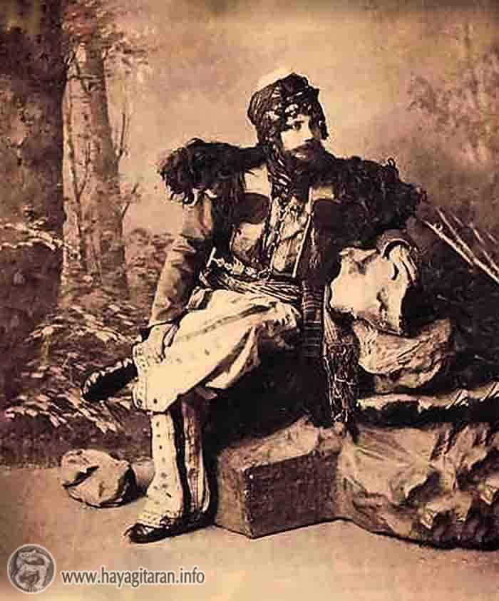 Armenian from Sasoun / ՄԻ ԲՈՒՌ ՆՇԽԱՐ՝ ՍԱՍՈՒՆԻՑ. 19-ՐԴ ԴԱՐԱՎԵՐՋԻ ՊԱՏԿԵՐՆԵՐ Armenian from Sasoun (ca1910) Publisher D. Ephimov ( Սասուն Sason )