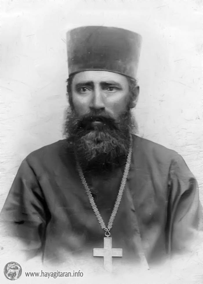 Բամբակաշատի Ս․ Աստվածածին եկեղեցու առաջին ավագ քահանա Հովհաննես Տեր-Հակոբյան․ 1908թ․ ԽԱՉՍ ՏԱԼԻՍ ԵՄ ՔԵԶ