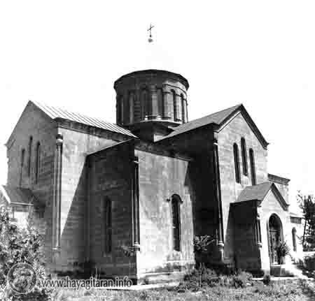 Ս․ Աստվածածին եկեղեցին՝ խորհրդային տարիներին՝ իբրև թունաքիմիկատների պահեստ ծառայելիս ԽԱՉՍ ՏԱԼԻՍ ԵՄ ՔԵԶ