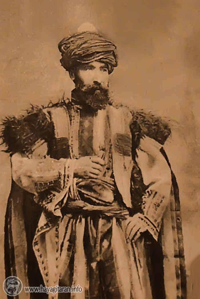 Սասունցի հայ (19-րդ դարի պատկեր) Armenian from Sasoun (19th c.)