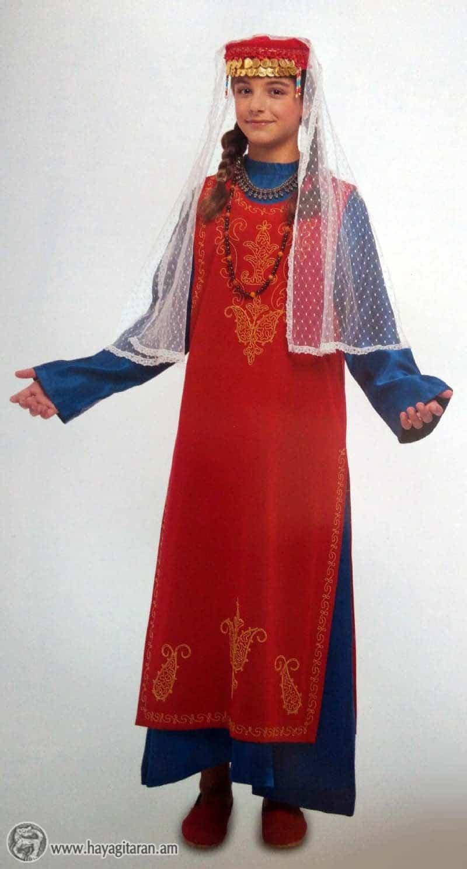 ԽՈՏՈՐՋՈՒՐԻ ԿԱՆԱՑԻ ՏԱՐԱԶ WOMAN'S DRESS, KHODORCHUR