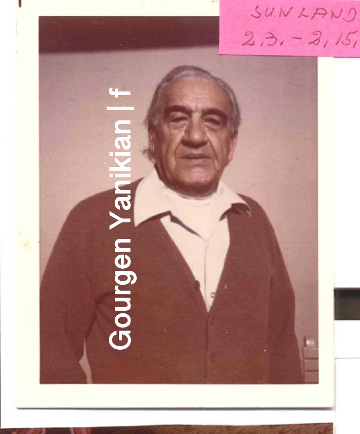 Գուրգեն Յանիկյան, 1984թ․ / ԿԱՐԵՒՈՐ ԱՆՑՔԵՐ ՅԱՆԻԿՅԱՆԻ ԴԱՏԱՎԱՐՈՒԹՅՈՒՆԻՑ